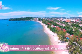 Asian Travel – Sihanouk Ville | Ochheuteal Beach | Otres Beach | Sunset – Cambodia – Part 8