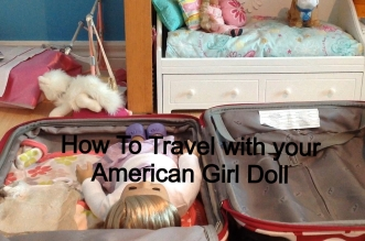 How to Travel with your American Girl Doll